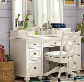 vanity set with mirrors