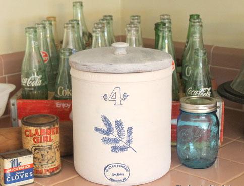 Vintage canister