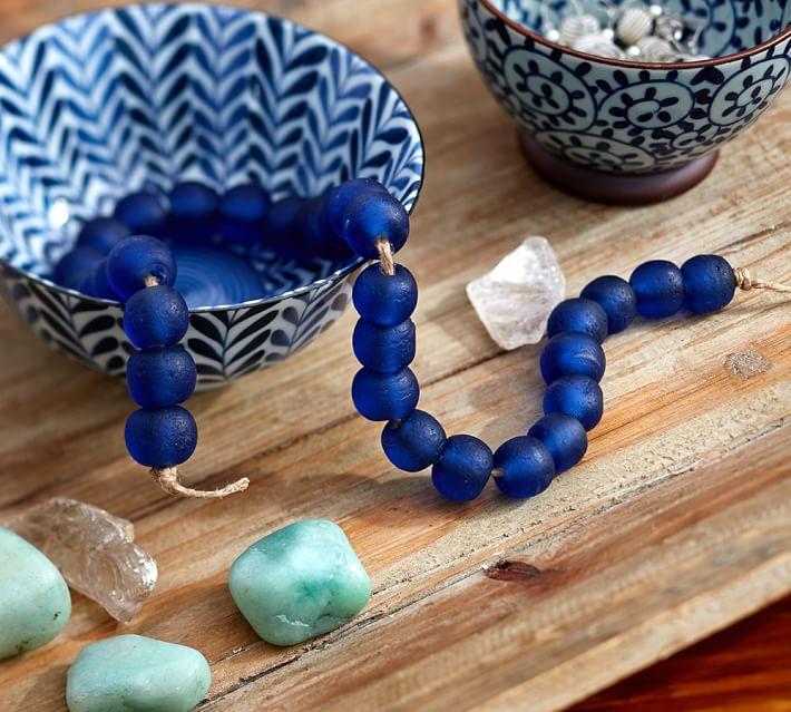 Indigo beads
