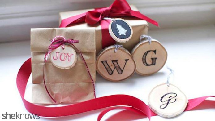 How to make rustic wooden gift