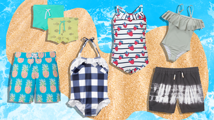 This Season's Best Swimsuits for Kids