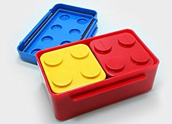 Lego-Style Lunch Box