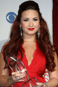 Demi Lovato's Red hot miss