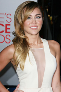 Miley Cyrus' bombshell locks