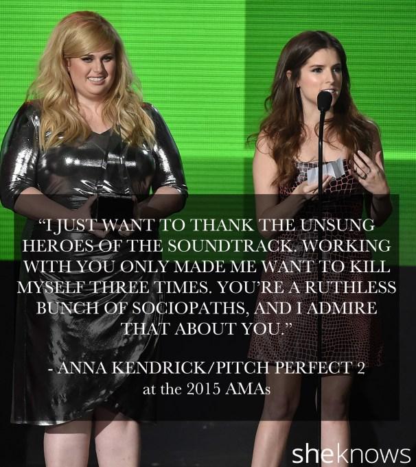 Anna Kendrick Pitch Perfect 2 2015 AMA