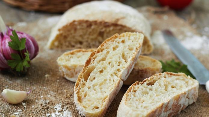 5-Minute recipe: Homemade ciabatta bread