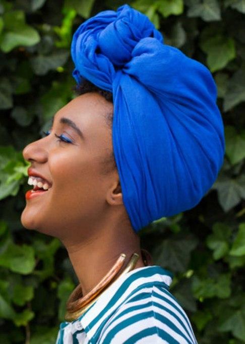 Accessories That Always Look Good on Short Hair | Fanm Djanm Rio Headwrap