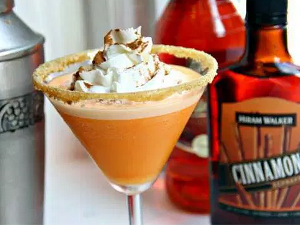 17 Pumpkin cocktails: Pumpkin cheesecake-tini
