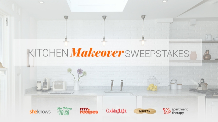 Kitchen Makeover Sweepstakes: Enter for your
