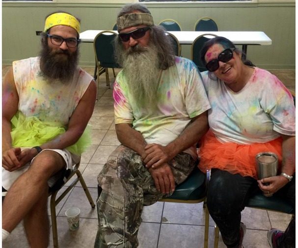 The Robertson family of Duck Dynasty