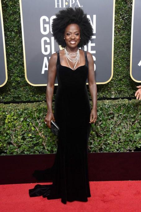 Best Golden Globes fashion 2018: Viola Davis