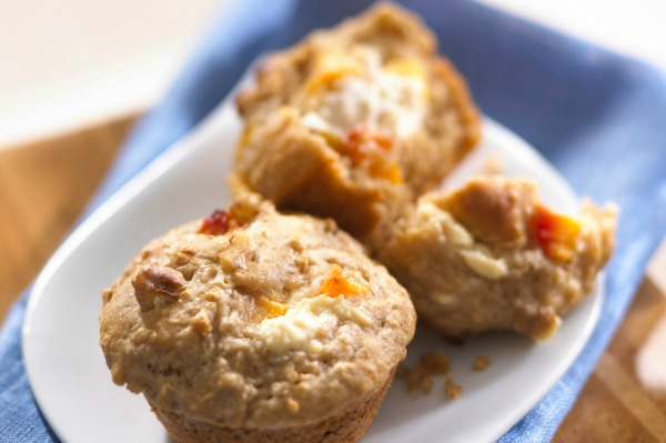 Peach muffins
