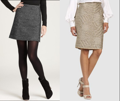 Tweed skirts