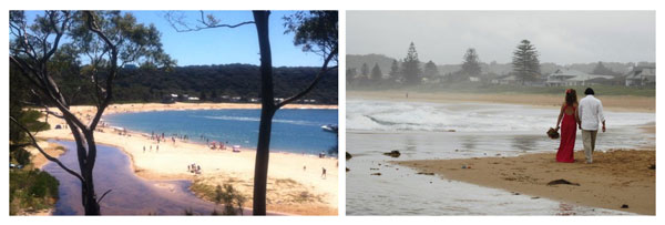 Pearl Beach and Avoca Beach, New South Wales