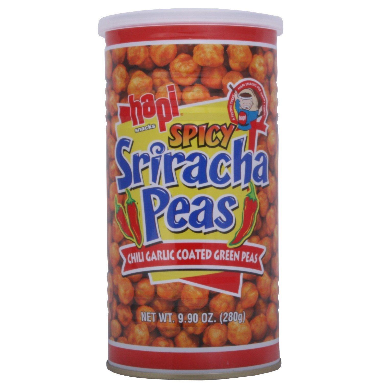sriracha peas
