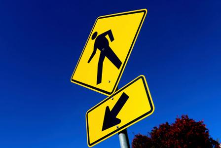 Pedestrian yield sign | Sheknows.com