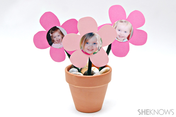 Mother's Day craft - Pen planter