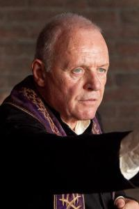 Anthony Hopkins' The Rite tops box
