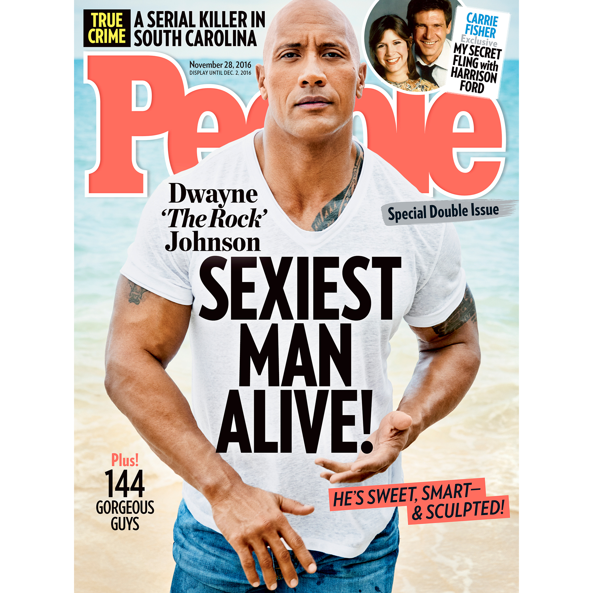 Dwayne Johnson, People's Sexiest Man Alive,' Sounded Damn Presidential in His Latest Interview