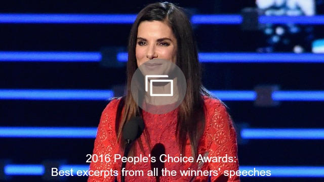 peoples choice awards speeches slideshow