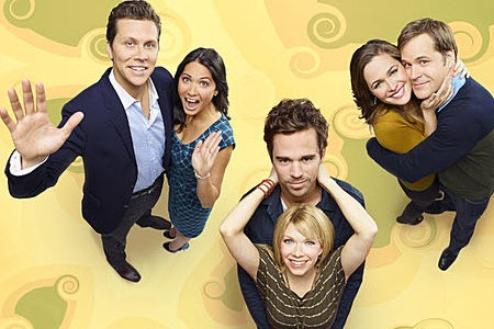 The cast of Perfect Couples