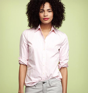 perfect striped shirt from The Gap