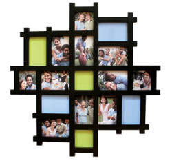 Nexxt by Linea Picture Frames, Echo 17 Piece Collage