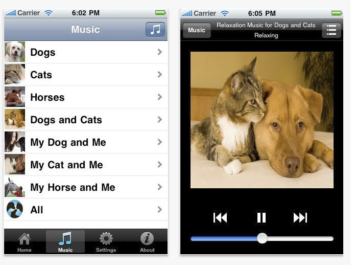 Pet Acoustics app