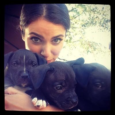 Nikki Reed selfie