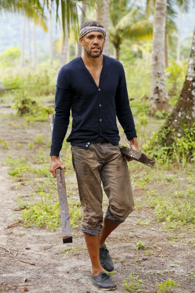 Peter Baggenstos walks along the beach on Survivor: Kaoh Rong