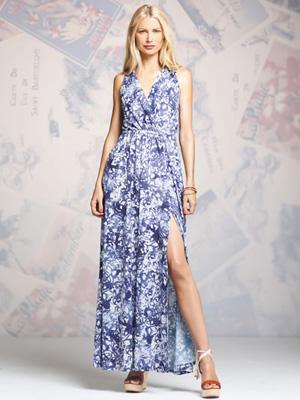 Peter Som for DesigNation wrap maxi dress ($78)