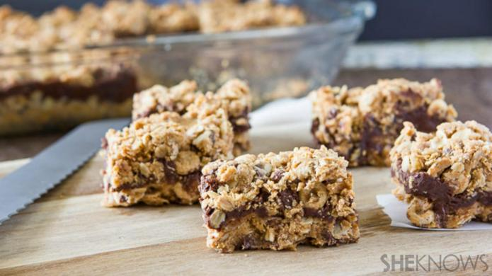 Try chocolate and oat bars for