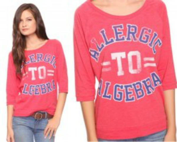 alergic-to-algebra-shirt