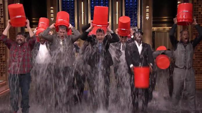 Watch celebrities take on the ALS