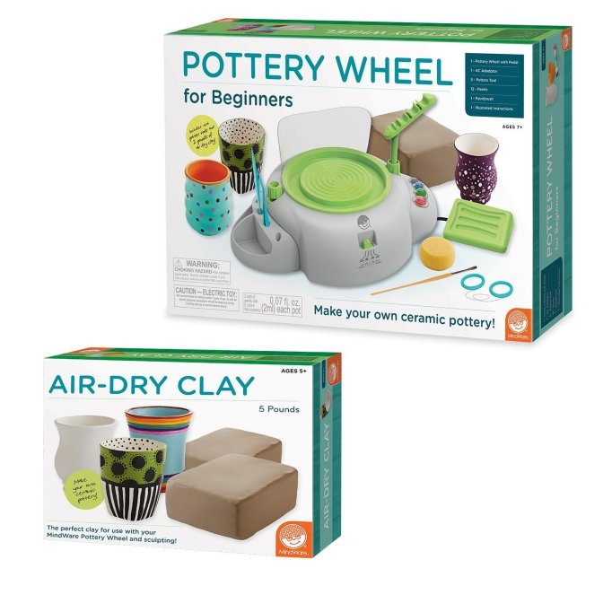 Pottery Wheel and Clay Kit