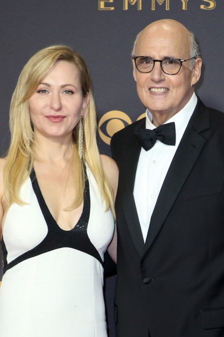 Kasia Ostlun Jeffrey Tambor 2017 Emmys