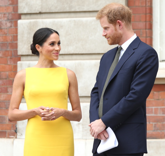 Meghan Markle and Prince Harry attend Your Commonwealth Youth Challenge reception