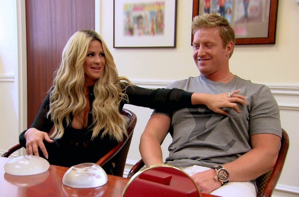 Kroy Biermann and Kim Zolciak