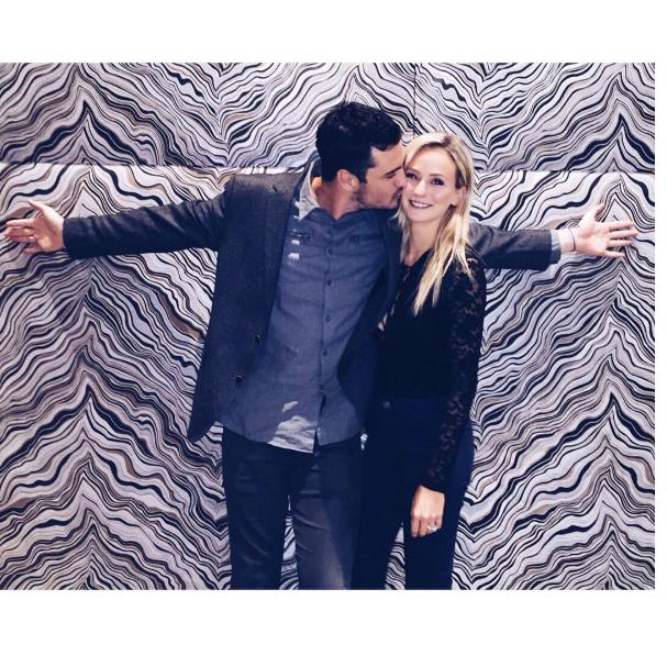 Lauren Bushnell and Ben Higgins in love