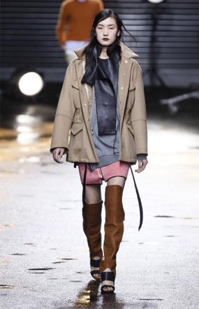 3.1 Phillip Lim - Runway - Fall 2013 Mercedes-Benz Fashion Week - Miltary Jacket