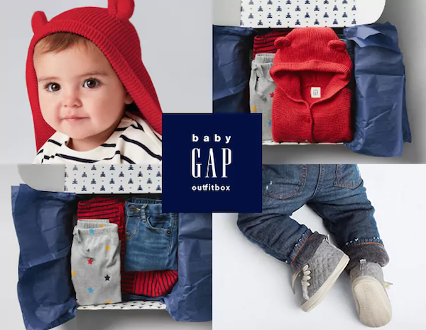 Best baby subscription boxes: BabyGap OutfitBox