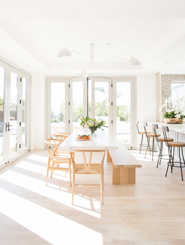 Whitewashed Malibu home