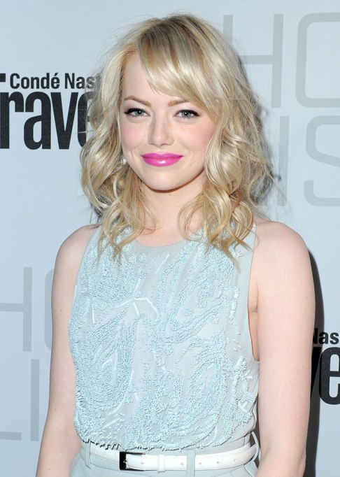 Dramatic Celebrity Hair Makeovers | After: Emma Stone