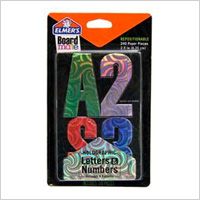 Board Mate® Repositionable Holographic paper Letters & Numbers