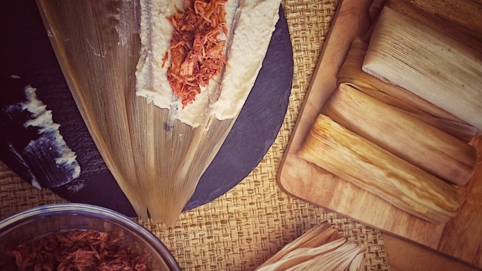 How to roll tamales — just