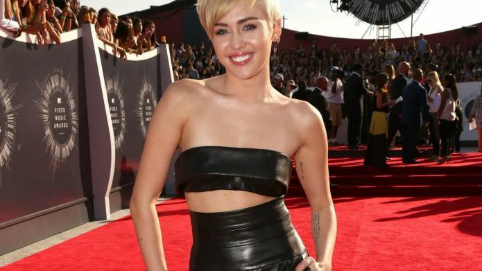 Miley Cyrus vows at the VMAs