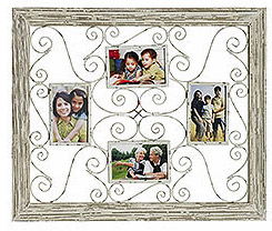 White Open Wall Frame from Pier1