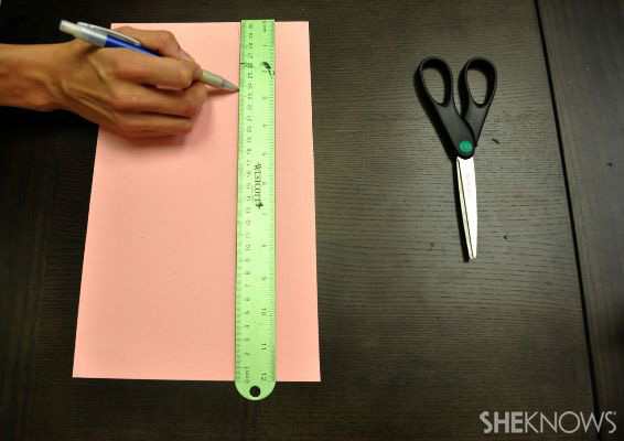 Step 1: Measure and cut