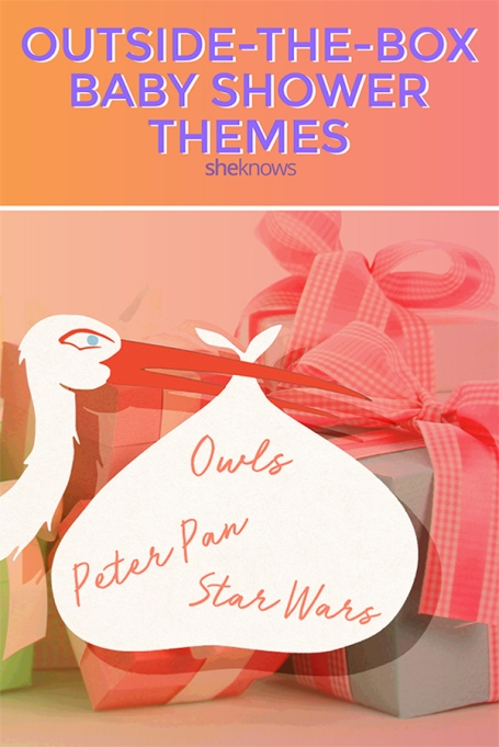 Outside-the-box baby shower themes