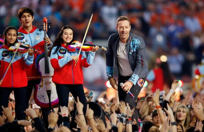 Coldplay Super Bowl 50